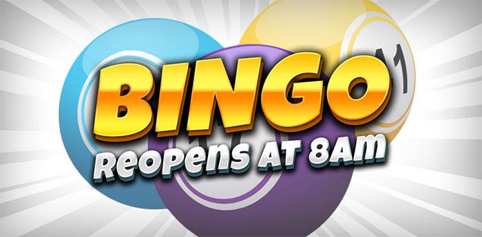 bingo online reopens