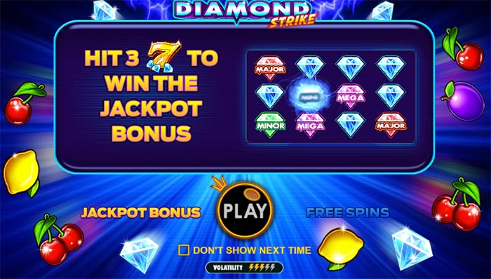 diamond strike bonus free