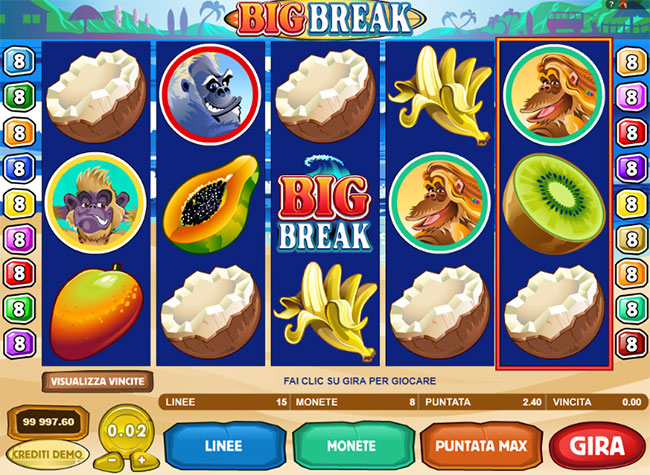 example play big break slot