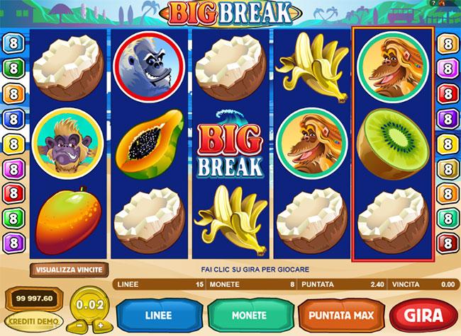 example play big break slot