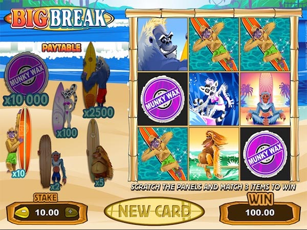 feature games big break slot