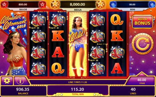 wonder woman slot iphone android
