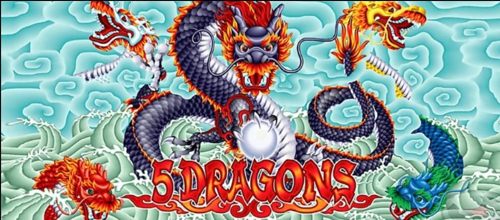 สล็อต 5 Dragons Slot เกมสล็อต 5 มังกร